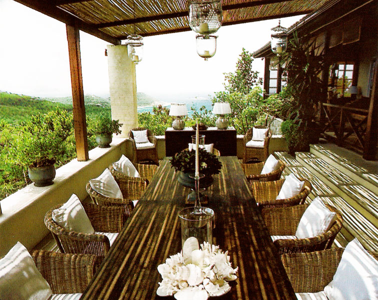 Outdoor Dining Veranda